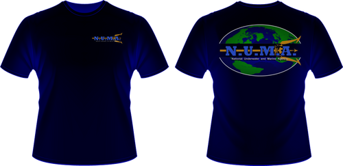 NUMA T-Shirt Blue by viperaviator