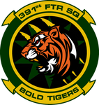 391st Fighter Squadron Bold Tigers Commission