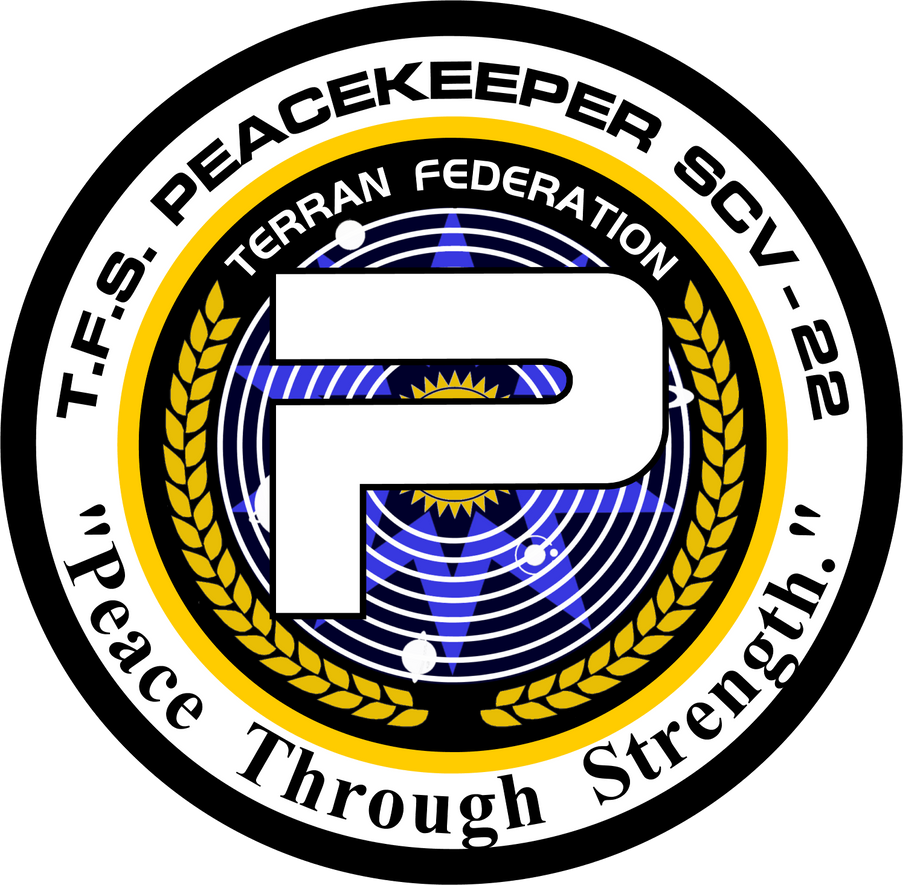 TFS Peacekeeper Ship's Insignia by viperaviator