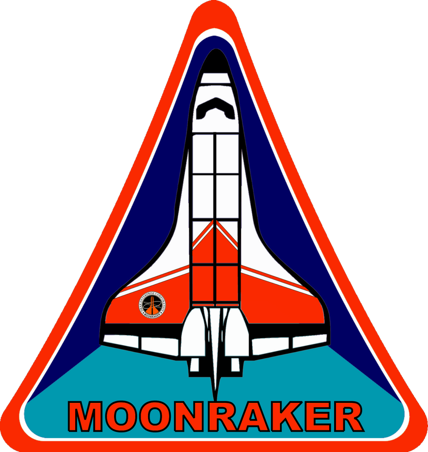 Moonraker Space Shuttle Insignia by viperaviator