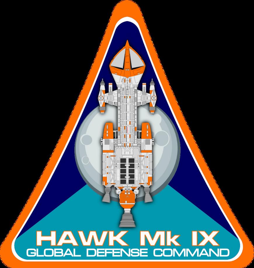 Space 1999 Hawk Mk IX Flight Insignia by viperaviator
