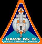 Space 1999 Hawk Mk IX Flight Insignia
