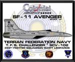 SF-11 Avenger Poster Commission