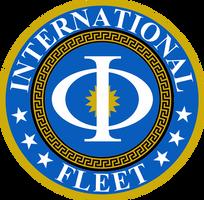 Ender's Game International Fleet Insignia by viperaviator