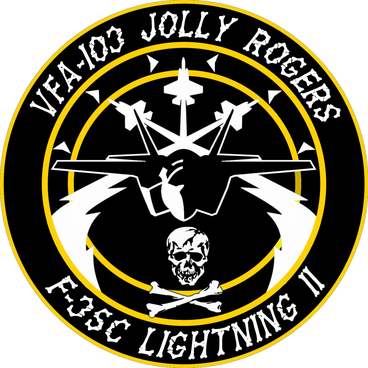 VFA-103 Jolly Rogers Flight Insignia by viperaviator on ...