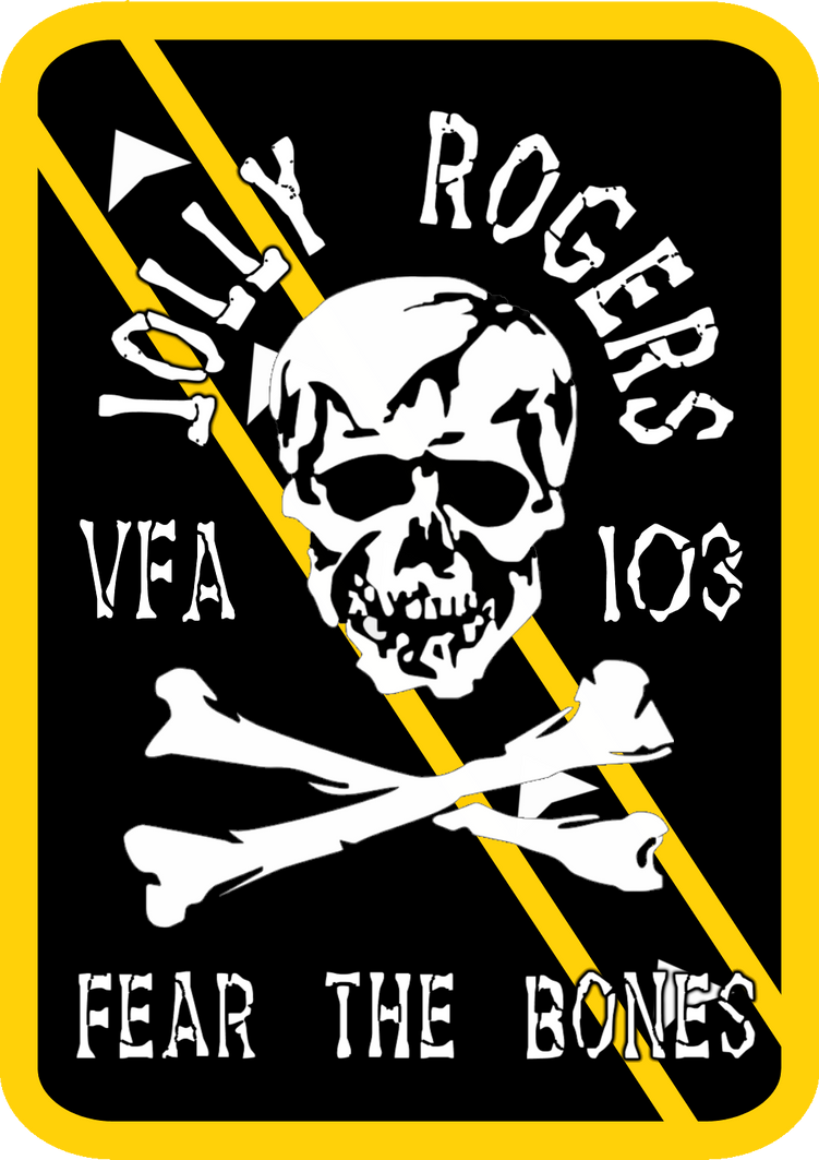 VFA-103 Jolly Rogers Squadron Insignia by viperaviator on ...