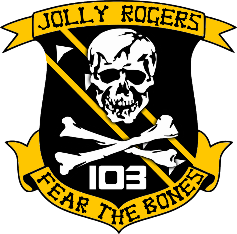 BSG VFS-103 Jolly Rogers Squadron Insignia by viperaviator ...