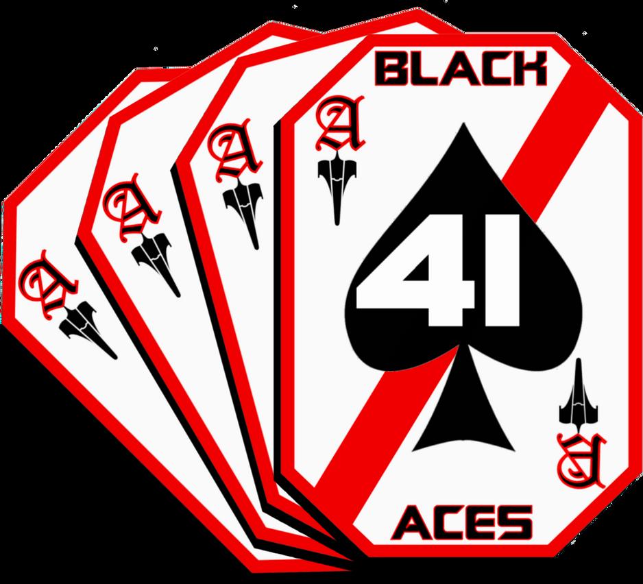 Bsg Vfs 41 Black Aces Squadron Insignia By Viperaviator On Deviantart