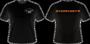 TOS  Movie Era USS Enterprise A Crew T-Shirt
