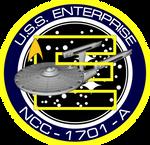 USS Enterprise A Ship's Insignia NEW VERSION