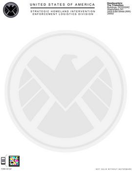 S.H.I.E.L.D. Letterhead Revised V.3