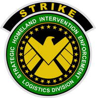 S.H.I.E.L.D. Strike Insignia CAWS Green Version by viperaviator