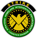 S.H.I.E.L.D. Strike Insignia CAWS Green Version