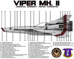 BSG Viper Mk II Side View Technical Callouts