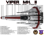 BSG Viper Mk II Top View Technical Callouts
