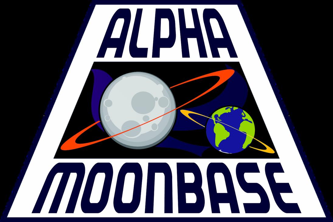 New Alpha Moonbase Logo Space: 2099 by viperaviator