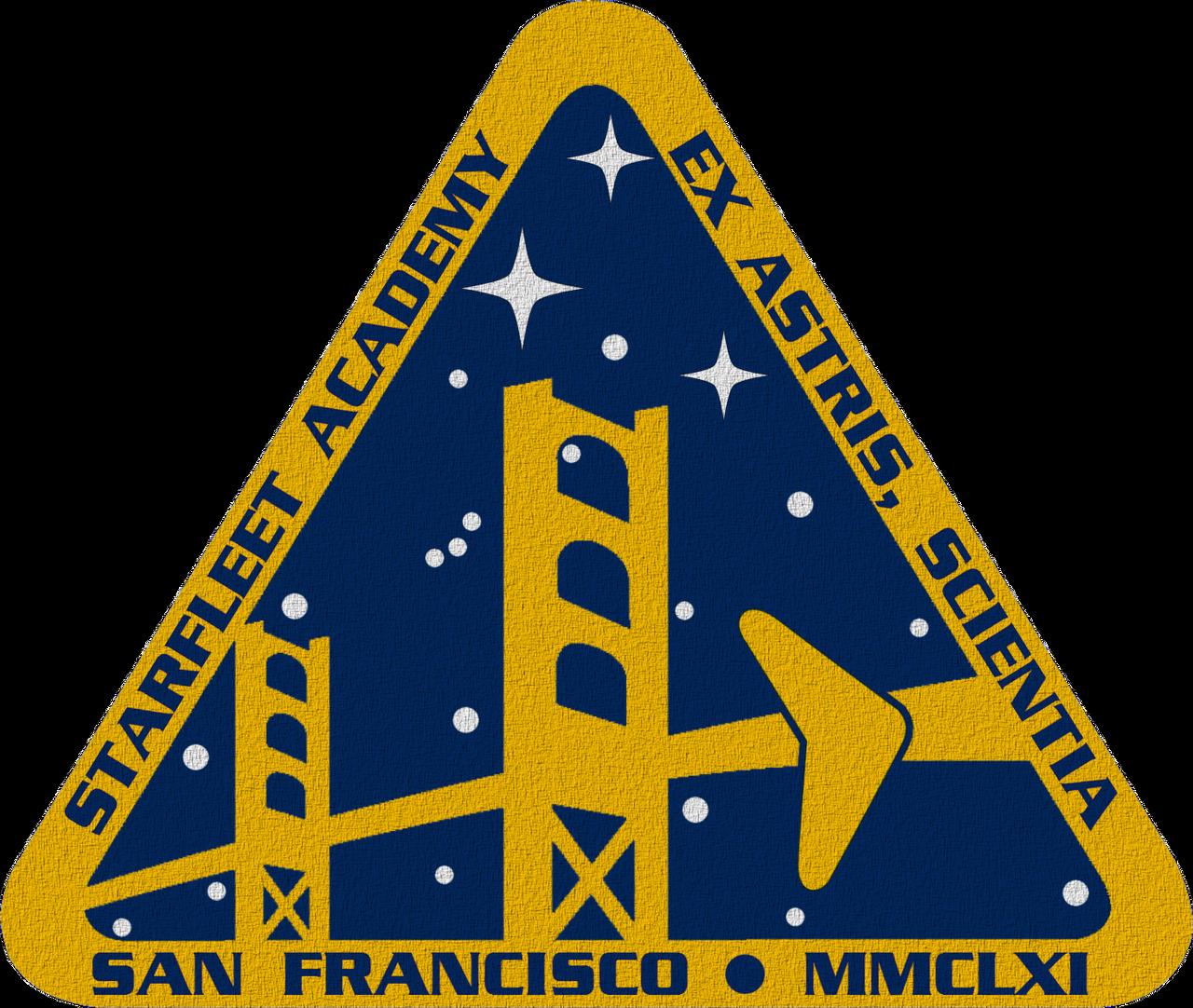 star trek tos starfleet academy crest by viperaviator on