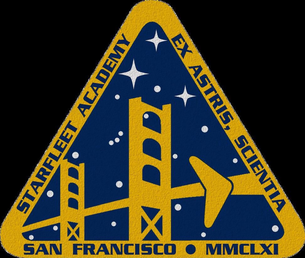 Star Trek TOS Starfleet Academy Crest by viperaviator