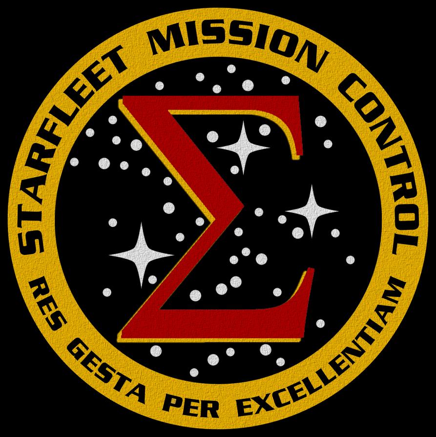 Starfleet Mission Control Crest by viperaviator