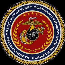 Starfleet Command U.F.P. Marine Corps Seal