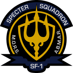 seaQuest DSV/2032 Specter Squadron Insignia