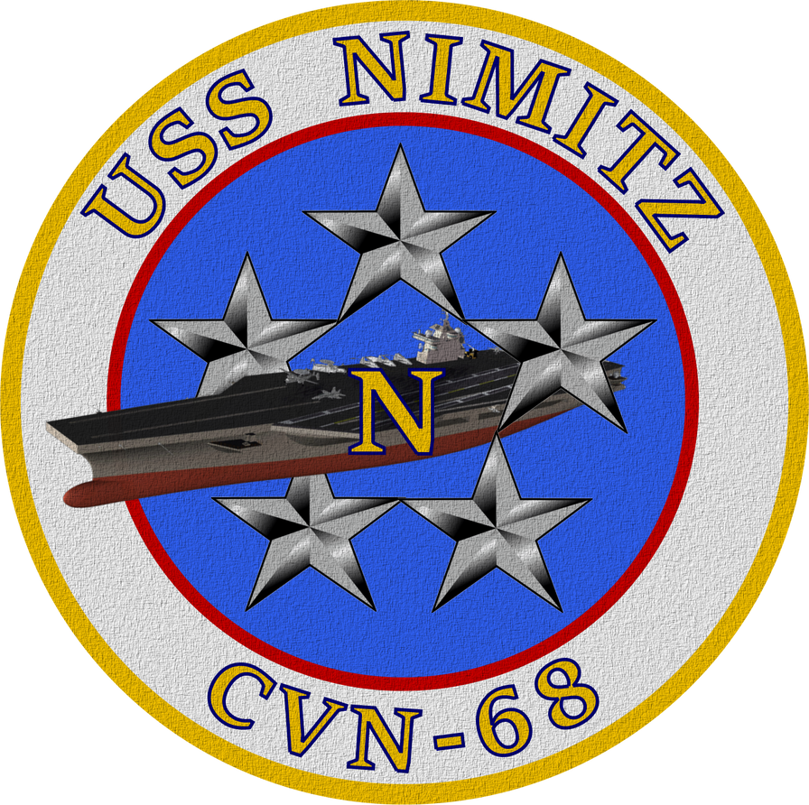 USS Nimitz CVN-68 Ship's Insignia Patch by viperaviator
