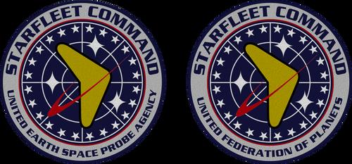 Star Trek TOS Starfleet Command Seals by viperaviator
