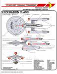 Star Trek TOS Federation Class Dreadnought