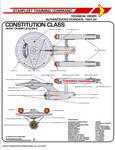 Star Trek TOS Constitution Class Heavy Cruiser