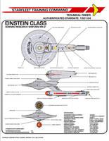 Star Trek TOS Einstein Class Science Research Ship by viperaviator