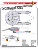 Star Trek TOS Nathan James Class Destroyer by viperaviator