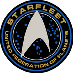 Starfleet Patch From ST Into Darkness and Beyond