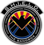 SHIELD The Sandbox Patch Decal