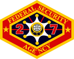 Outland Federal Security Agency Patch