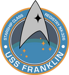 USS Franklin NX-326 Mission Patch