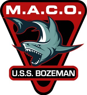 MACO Insignia USS Bozeman