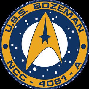 USS Bozeman Ship's Patch