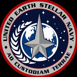 United Earth Stellar Navy Logo