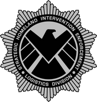 Modified S.H.I.E.L.D. Badge by viperaviator