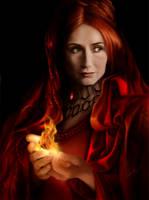 The Red Priestess by DrKujo