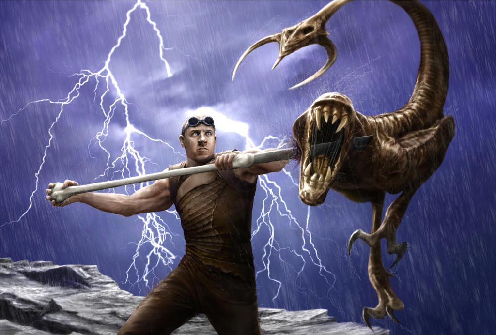 Riddick Rule The Dark Contest 1 by DrKujo