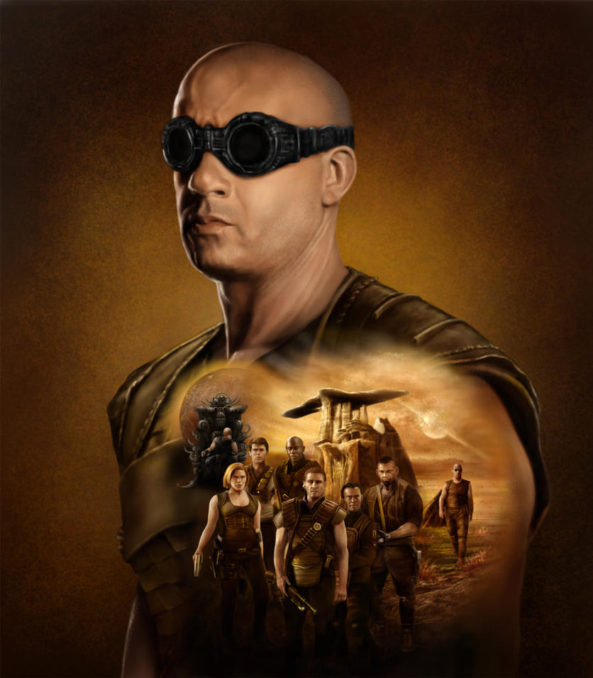 Riddick Rule the Dark by DrKujo