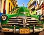 Colorful Classic Car