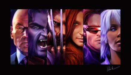 X-men collage by DrKujo