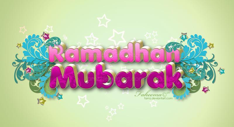.: Ramadhan Mubarak :.