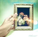 Stuck in the mirror...noess