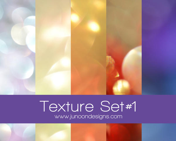 Free Bokeh Texture Set by FaMz