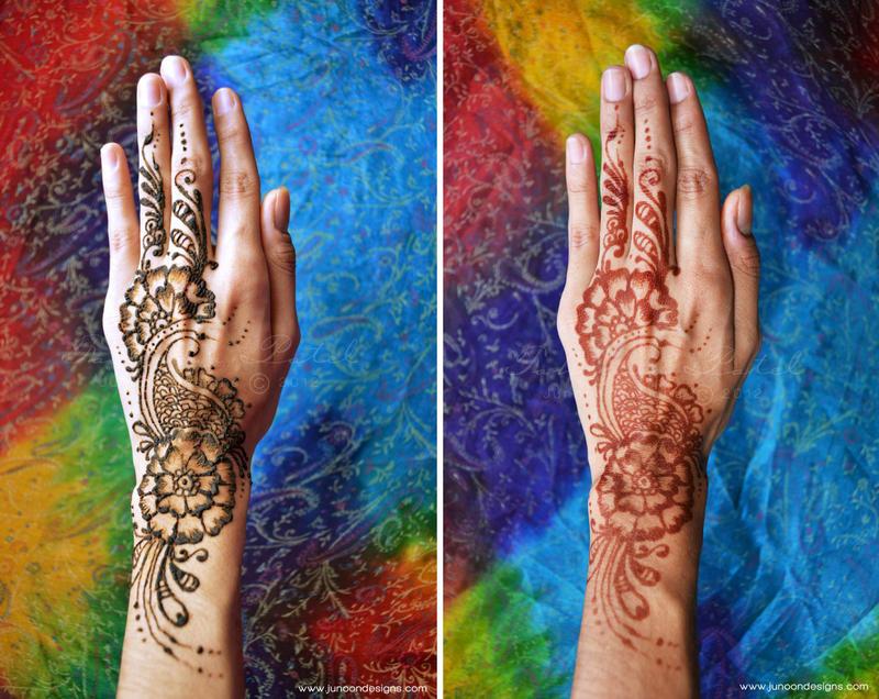 Henna Tattoo Tutorial : Henna tattoo tutorial by famz on deviantart