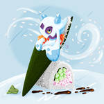 Pokemon Sushi Frolass Temaki
