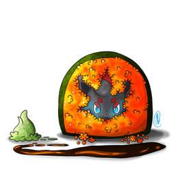 Pokemon Sushi Zorua Tobiko Roll
